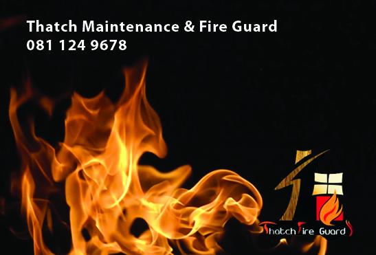 Thatch Fire Guard