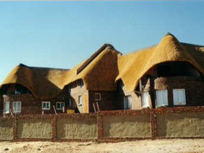 African Thatch Roof